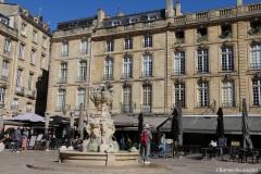 Bordeaux : la place du Parlement