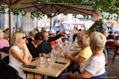 """Déjeuner au restaurant """"la terrasse Saint Pierre"""""""